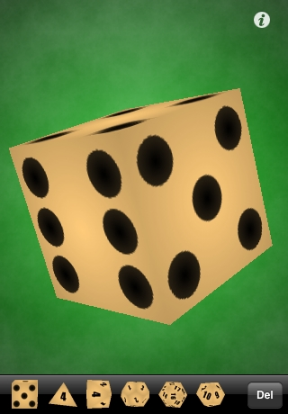 Screenshot 3D RPG DICE