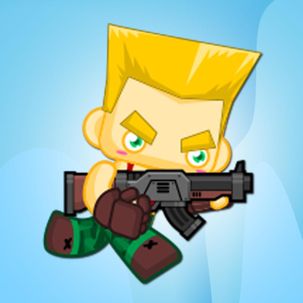 A Jungle Fire Fight – Soldier Battle Jump & Run Fun